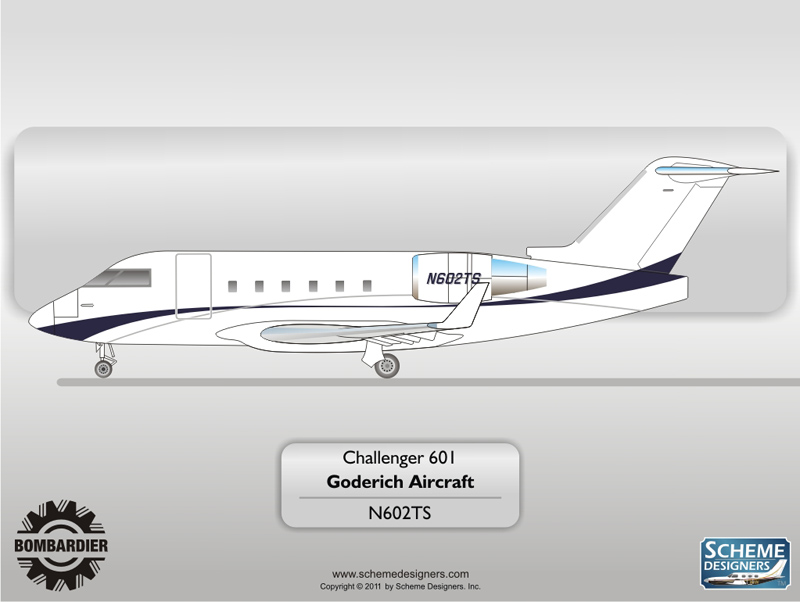 Challenger 601 N602TS