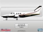 Twin Commander 700 N700MU by Scheme Designers