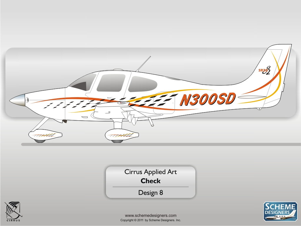 Cirrus Applied Art - Check