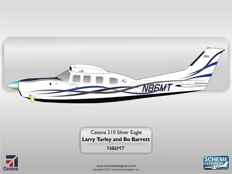 Cessna 210 Silver Eagle N86MT