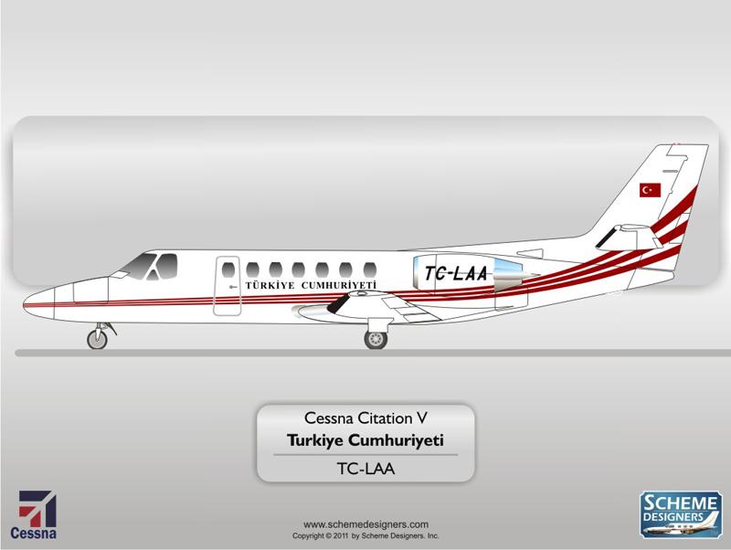 Cessna Citation V TC-LAA