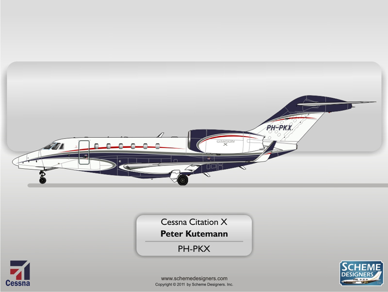 Cessna Citation X PH-PKX
