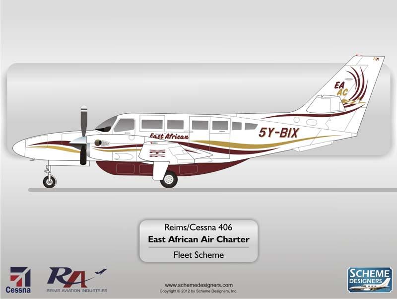 East African Air Charter C406 5Y-BIX
