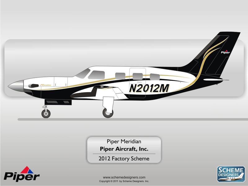 Piper Meridian 2012 Factory Scheme