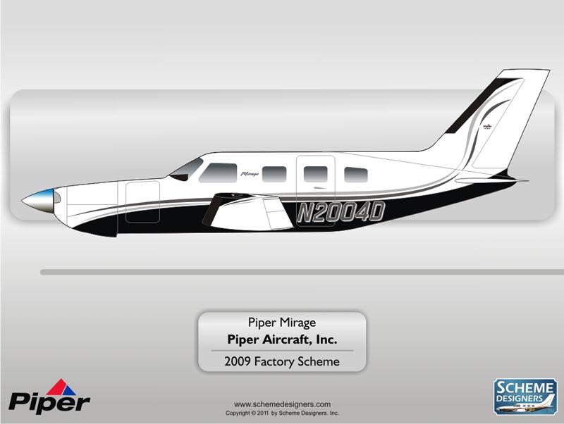 Piper Mirage Factory Scheme 2009