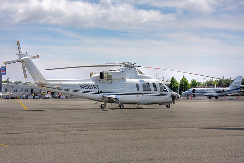 Sikorsky S-76B N661AT by Scheme Designers