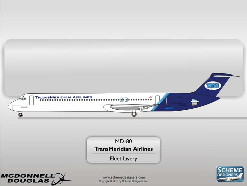 Trans Meridian MD-80
