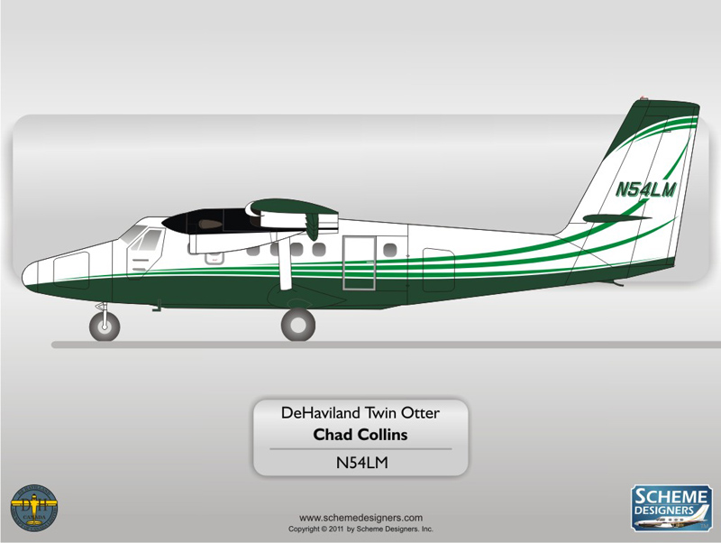 DeHavilland Twin Otter N54LM
