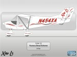 X-Air LS N454XA Factory Decal Scheme