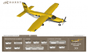 Interactive Application Lets Users Select Colors, Equipment and Configuration